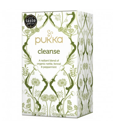 Herbata Organiczna - Oczyszczenie/Cleanse - 20 torebek Pukka Tea