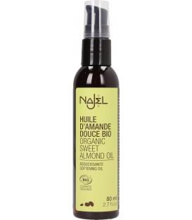 Organic sweet Almond Oil - 2.7 fl.oz