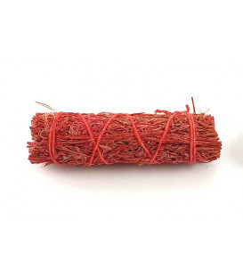 Dragon's blood sage smudge bundle from Mexico's coast...