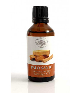 "Green tree massage oil ""palo santo"""