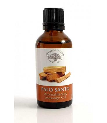 "Green tree massage oil ""palo santo"""