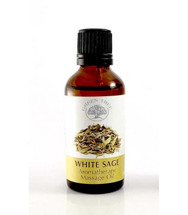 """Green tree massage oil """"white sage"""""""