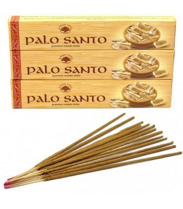 Palo Santo Incense Green tree 12 pack display