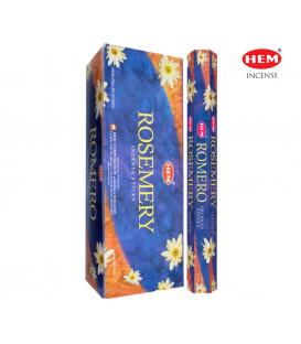 Rosemary Incense 6 pack HEM 20 grams hexagonal packag...