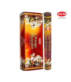 Orange Blossom Incense 6 pack HEM 20 grams hexagonal ...