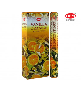 Vanilla Orange Incense 6 pack HEM 20 grams hexagonal ...