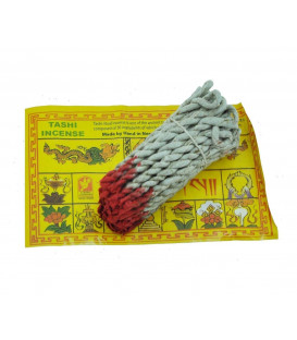 Tashi Tibetan incense made of rope with Sandalwood