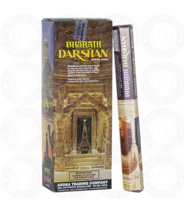 Bharat Darshan incense 6 pack hexa pack 20 grams