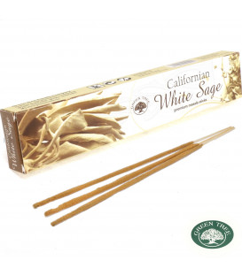 Californian White Sage Incense Green tree
