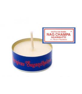 Świeczka zapachowa tealight - Nag champa - Satya Saibaba