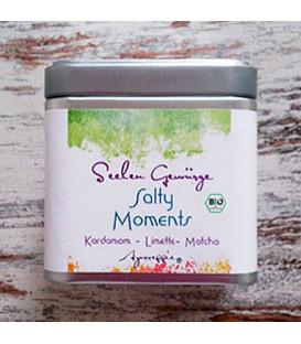 """Salty Moments """"Cardamom-Lime-Matcha"""" organic, 150 g Tinbox"""