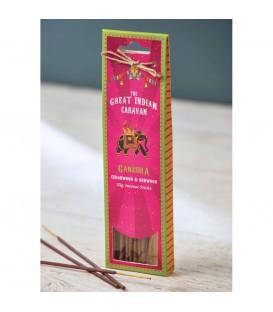 1 25 g. The Great Indian Caravan Incense Sticks in Cardboard Packet Free INGR25HP