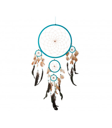 Dreamcatcher (supplied Assorted) with leather and bet...