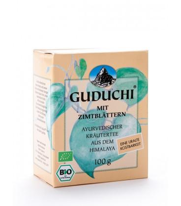 Herbatka Nepalska BIO Guduchi z Liśćmi Cynamonowca, Sypana 100 g