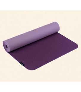 Mata do jogi Yogimat PRO Kolory: Oberżyna/Liliowy, 183 x 61 cm x 5 mm Biodegradalna pianka TPE