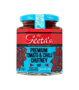 Premium Pomidorowy Chutney 230g GEETA'S