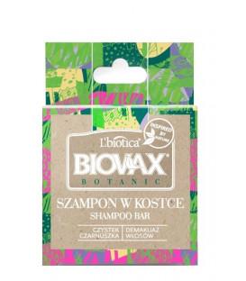 Szampon w kostce Biovax Botanic ECO Czystek czarnuszka 82g