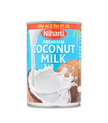Mleko Kokosowe w puszce COCONUT MILK 400ml NIHARTI