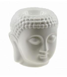Lampa do aromaterapii Głowa Buddy w kolorze białym
