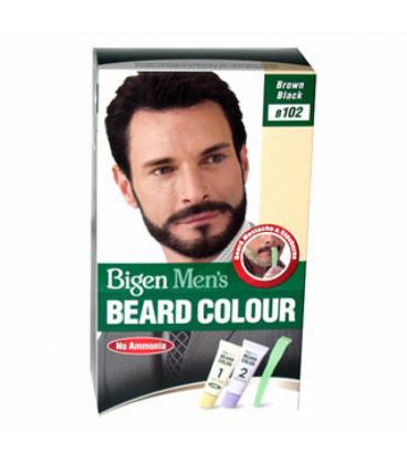 BIGEN BEARD CLR MEN 102/BRNBLK 40g