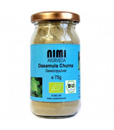 BIO Dashamula Churna w proszku 75 g Nimi Ayurveda