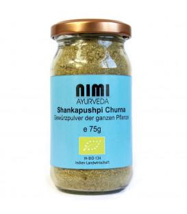 Shankapushpi Churna organic (Nimi Ayurveda), 75 g