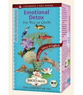 Herbata Emotional Detox (Clarity) (element wody: słodki hibiskus i mięta) 16 torebek, Shoti Maa