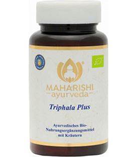 BIO Triphala Plus, 60 tabletek, Maharishi Ayurveda
