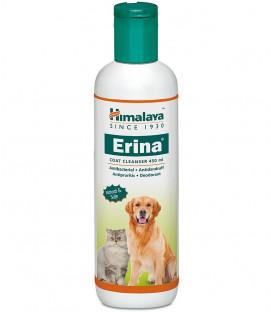 Szampon dla psów przeciwko kleszczom, pchłom i pasożytom z odżywką ERINA Plus 100ml HIMALAYA