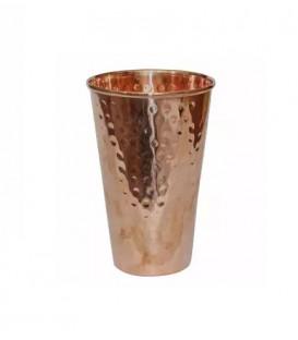 COPPER TAPER HAMMERED GLASS 300ml [SE 282]