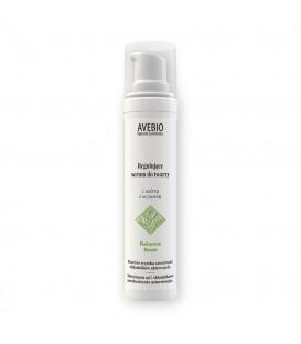 Regulujące serum do twarzy z mirrą i oczarem - Balance Base, 50ml, Avebio