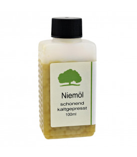 Neem Oil, cold pressed (100 ml)
