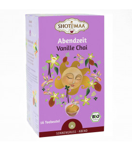 Organiczna Herbata na Wieczór- Unwind Vanille Chai, Shoti Maa 16 torebek