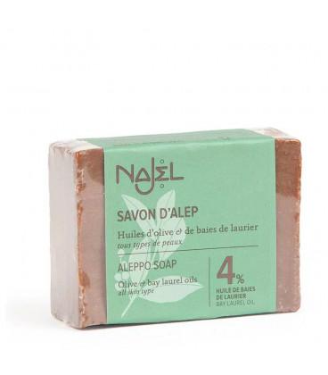 Mydło oliwkowo-laurowe Aleppo 150g (4% oleju laurowego) Najel