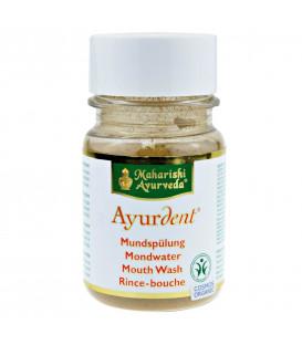 Puder ziołowy do płukania ust 50g - do wymieszania z wodą, BDIH Cosmos Organic, Ayurdent