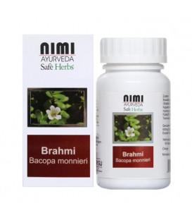 Ekstrakt z Brahmi, 60 wegetariańskich kapsułek (35,8 g)