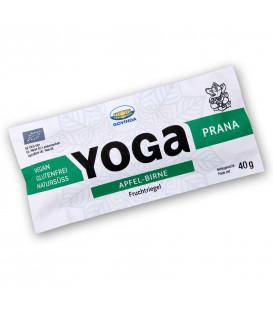 BIO Baton Yoga Prana Owocowy z jabłkiem i gruszką, 40g, Govinda