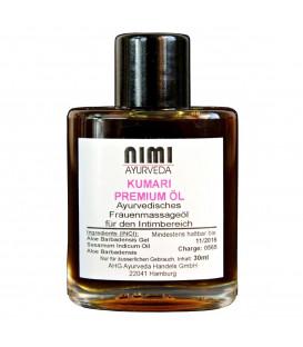Kumari Oil - olejek do masażu intymnego dla kobiet 30 ml Nimi Ayurveda
