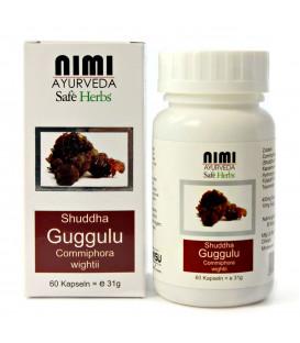 Guggul Extract (Shudda Guggulu), 60 capsules (31 g)
