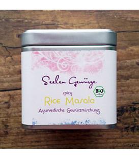 BIO Spicy Rice Masala - organiczna mieszanka przypraw, 50 g pudełko, Ayurveggie