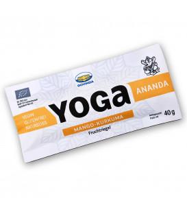 BIO Baton Yoga Ananda Owocowy z Mango i Kurkumą, 40g, Govinda