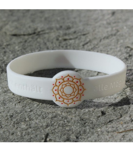 Mindlet Lotus bracelet, white (white / Normal)