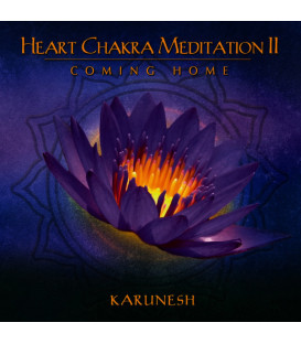 "Heart Chakra Meditation Vol. II ""Coming Home"" - Karunesh CD"