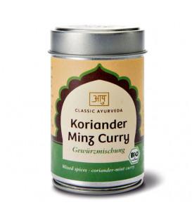 Organiczna mieszanka przypraw Kolendra Mięta Curry, 50 g  Classic Ayurveda