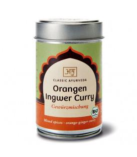 BIO Pomarańczowo-Imbirowe Curry, 50 g Classic Ayurveda