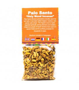 Palo Santo kadzidło sypkie w wiórkach, certyfikat SERFOR, saszetka 20 g