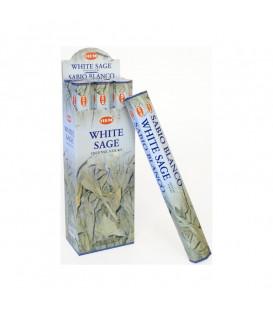 Kadzidła BIAŁA SZAŁWIA, White Sage 20 patyczków Hem