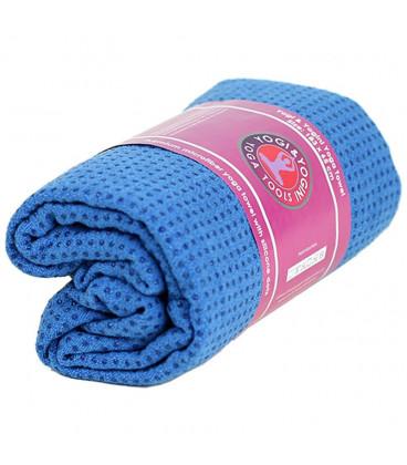 Ręcznik do jogi silikonowy Antypoślizgowy - Niebieski - 500g, 183 x 65 cm, Yogi & Yogini