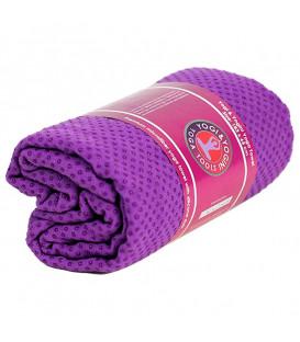 Ręcznik do jogi silikonowy Antypoślizgowy - Fioletowy - 500g, 183 x 65 cm, Yogi & Yogini