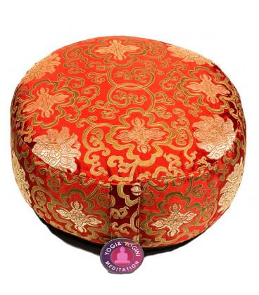 Poduszka do medytacji Lotus czerwona 33x17 cm